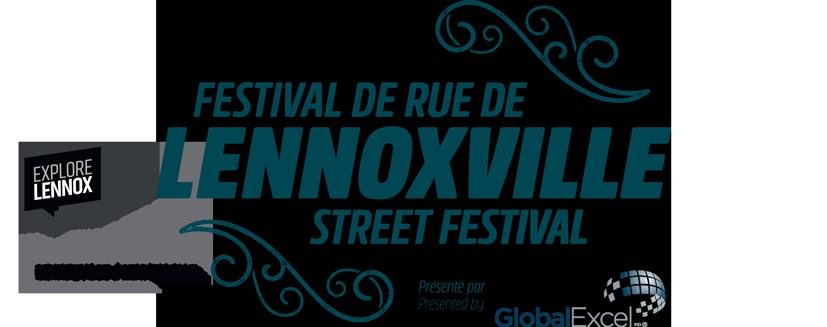 Street Festival Lennoxville Retina Logo