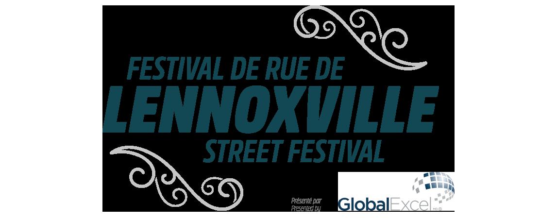 Street Festival Lennoxville Mobile Retina Logo