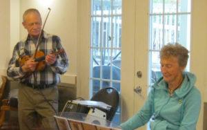 Ron Haseltine and Janice Graham